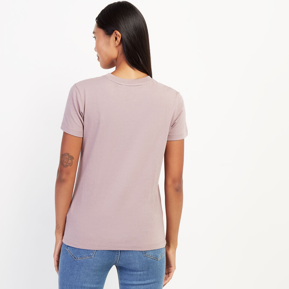 Roots-undefined-Womens Micro Cooper T-shirt-undefined-D
