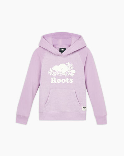 Roots-Sweats Girls-Girls Original Kanga Hoody-Lupine Pepper-A