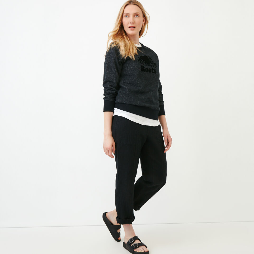 Roots-Women Our Favourite New Arrivals-Sadie Pant-Black-B