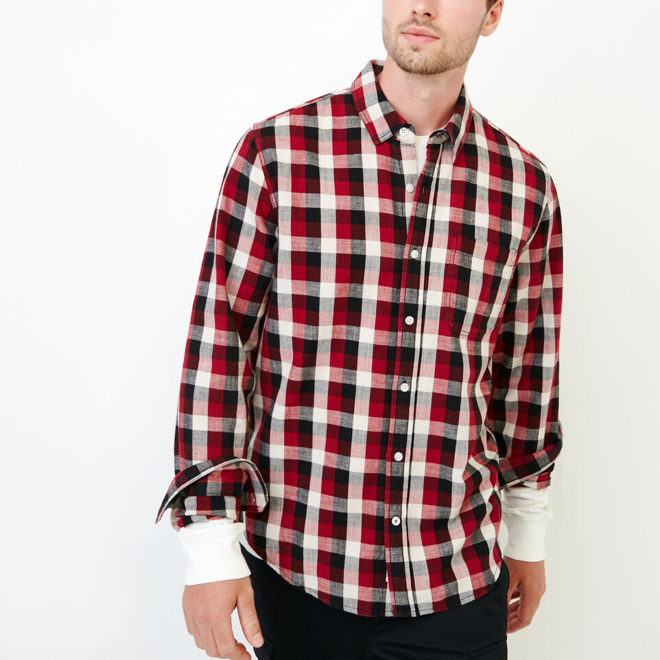 Roots-Men Tops-All Seasons Shirt-Sundried Tomato-A