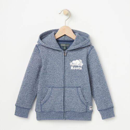 Roots-Sale Toddler-Toddler Original Full Zip Hoody-Ensign Blue Pepper-A