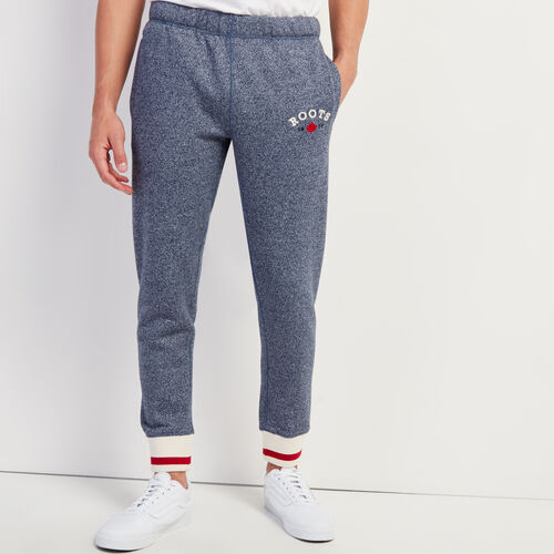 Roots-Gifts Holiday X Colton & Aaron-Cabin Slim Sweatpant-Navy Blazer Pepper-A