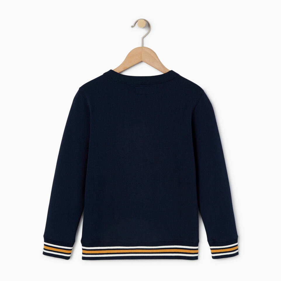 Roots-Kids Categories-Boys Alumni Sweatshirt-Navy Blazer-B