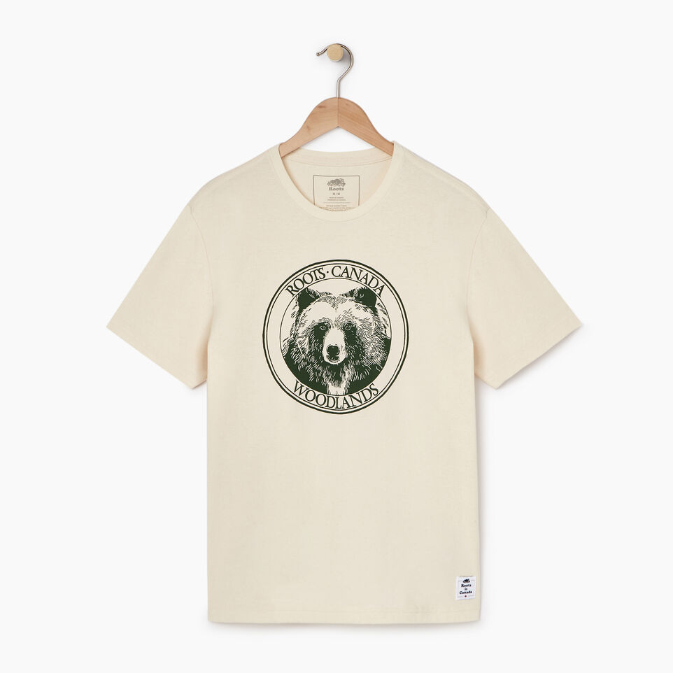 Roots-undefined-Mens Cooper Bear T-shirt-undefined-A