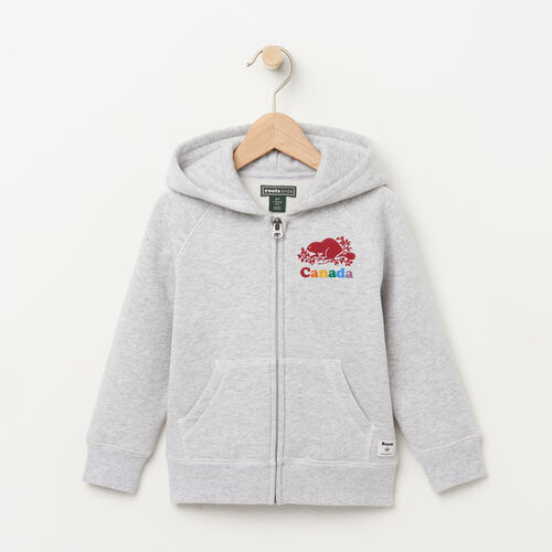 Roots-Sale Kids-Toddler Canada Zip Hoody-Snowy Ice Mix-A