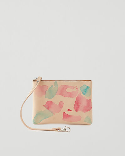 Roots-Sale Leather-Roots x Toronto Ink Company Small Wristlet Veg-Natural-A