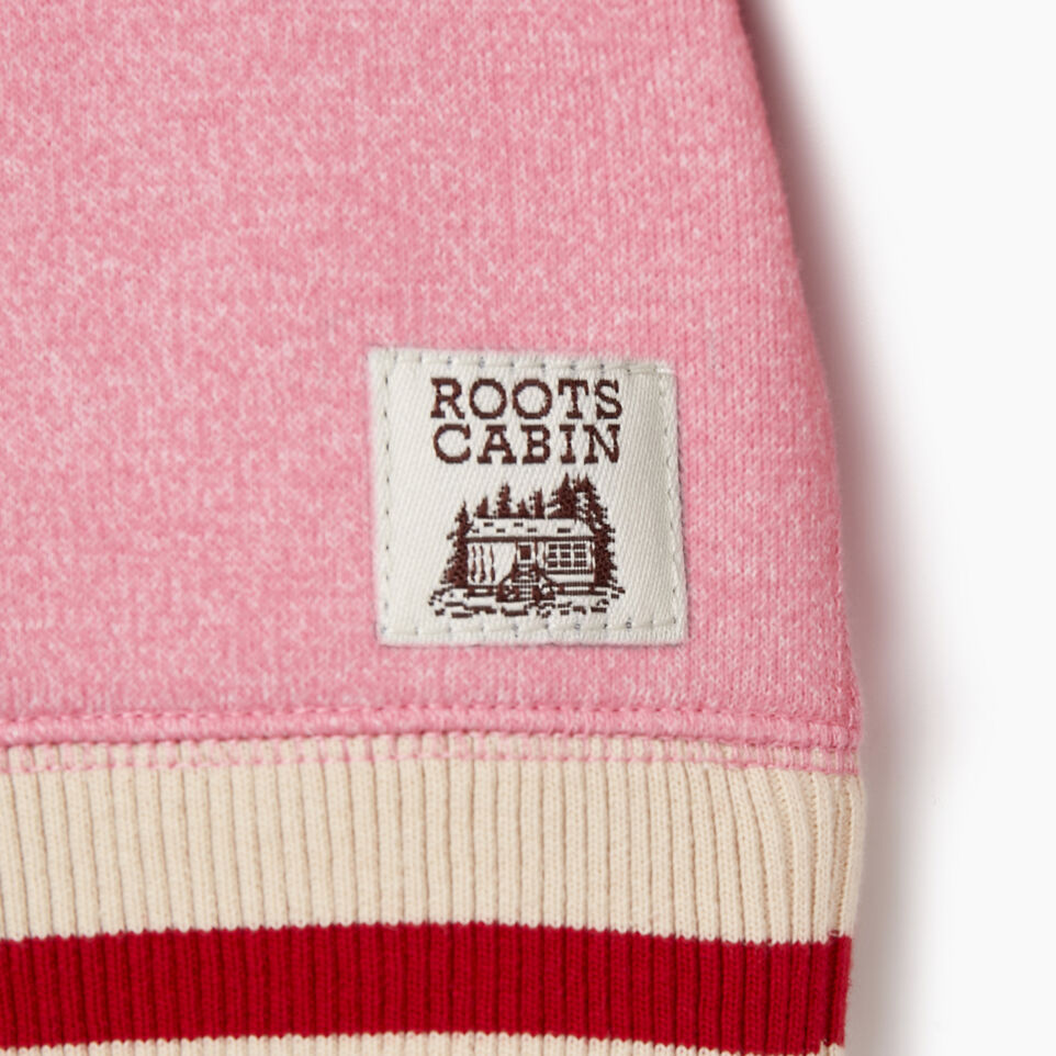 Roots-Sale Kids-Baby Roots Cabin Cozy Sweatshirt-Cashmere Rose Pepper-D
