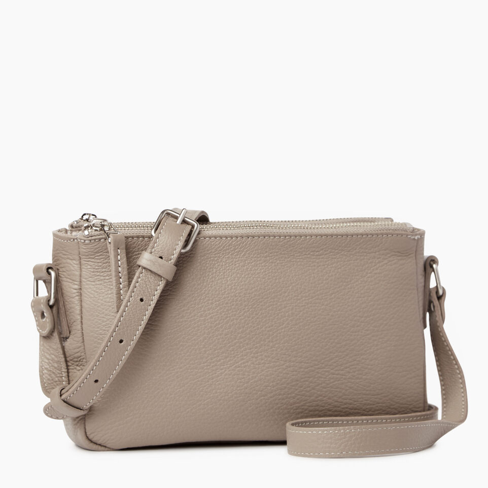 Roots-Leather Our Favourite New Arrivals-Main Street Crossbody-Flint Grey-A