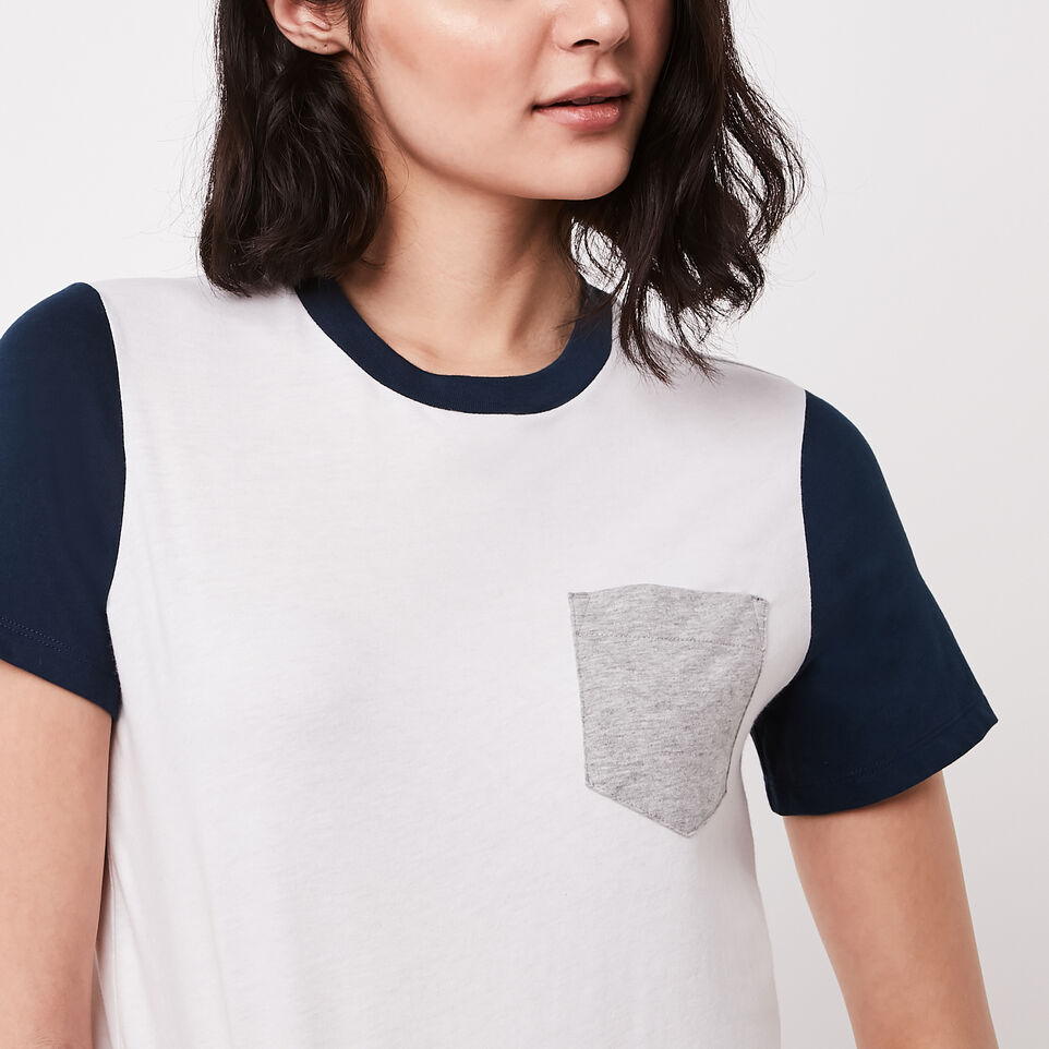 Roots-undefined-Colour Blocked T-shirt-undefined-C