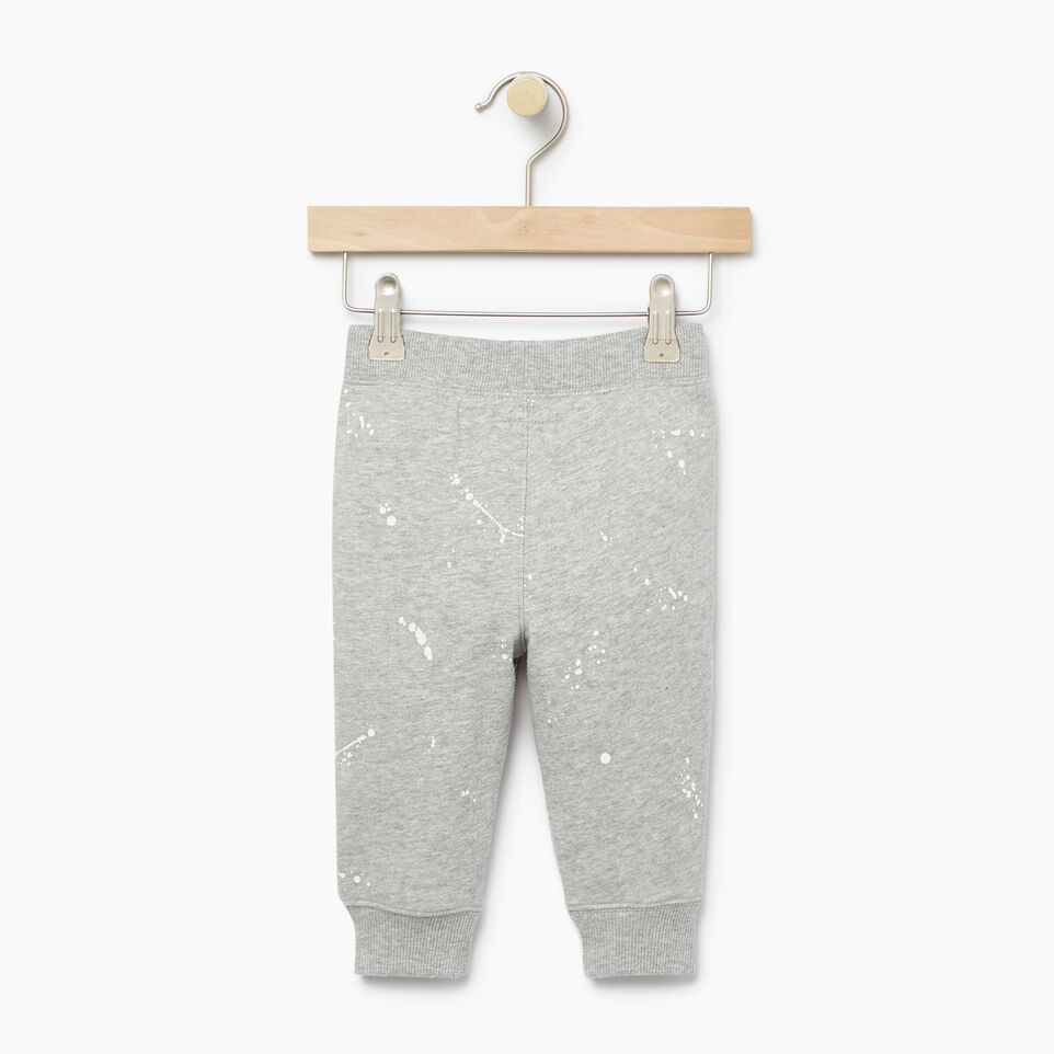 Roots-Kids Our Favourite New Arrivals-Baby Splatter Sweatpant-Grey Mix-B