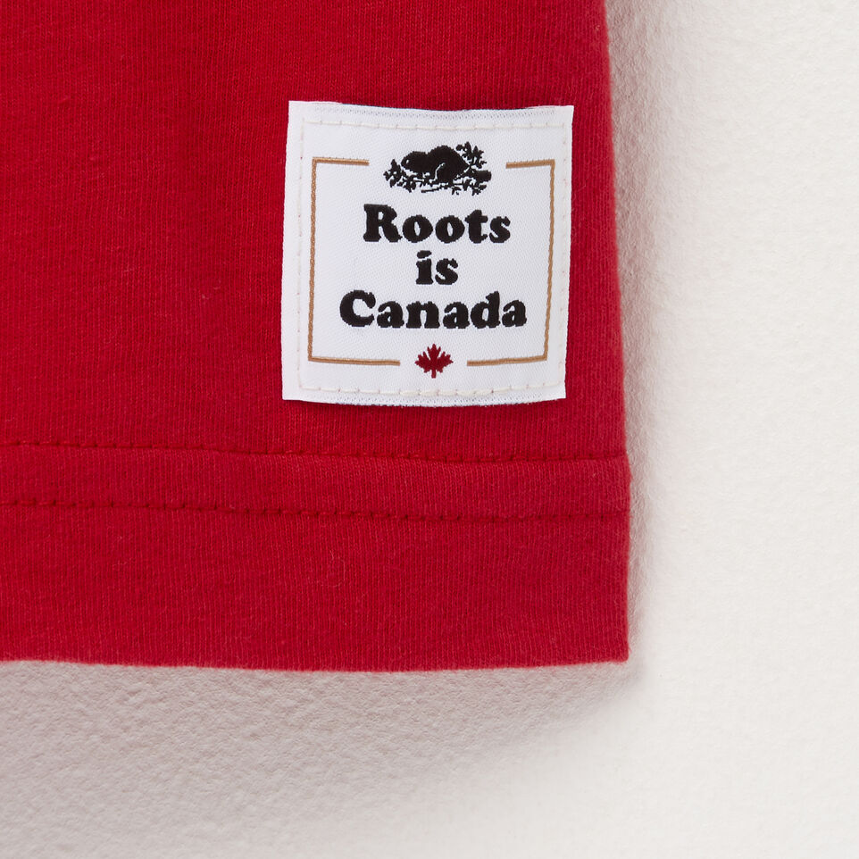 Roots-undefined-T-shirt blason pour hommes-undefined-C