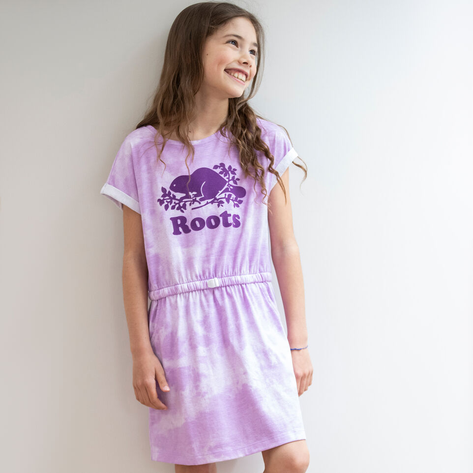 Roots-undefined-Robe T-shirt pour filles-undefined-A