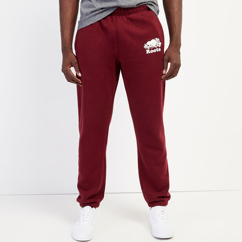 Roots-Men Bestsellers-Original Sweatpant-Mulberry-A