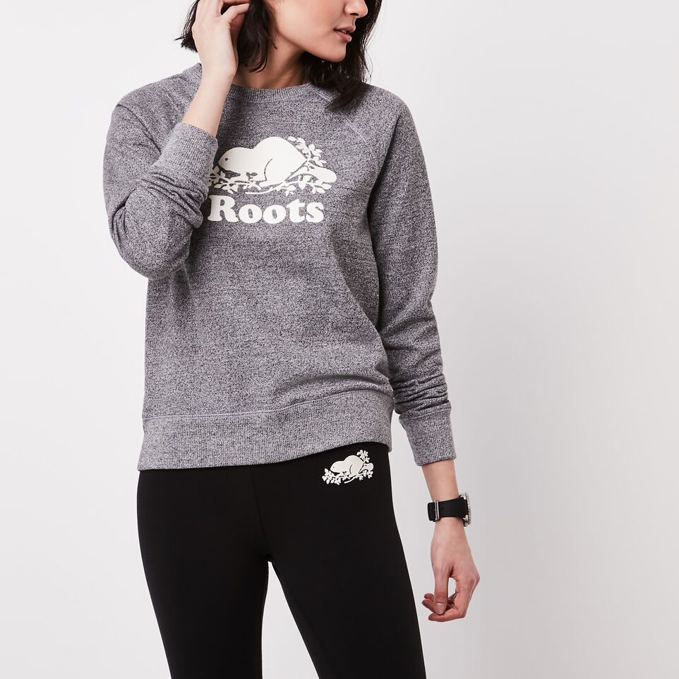 Roots-undefined-Roots Salt and Pepper Original Crewneck Sweatshirt-undefined-A
