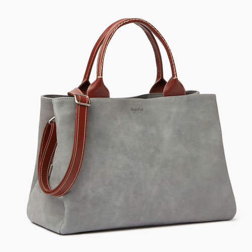 Roots-Leather  Handcrafted By Us Categories-Mont Royal Bag-Quartz/oak-A