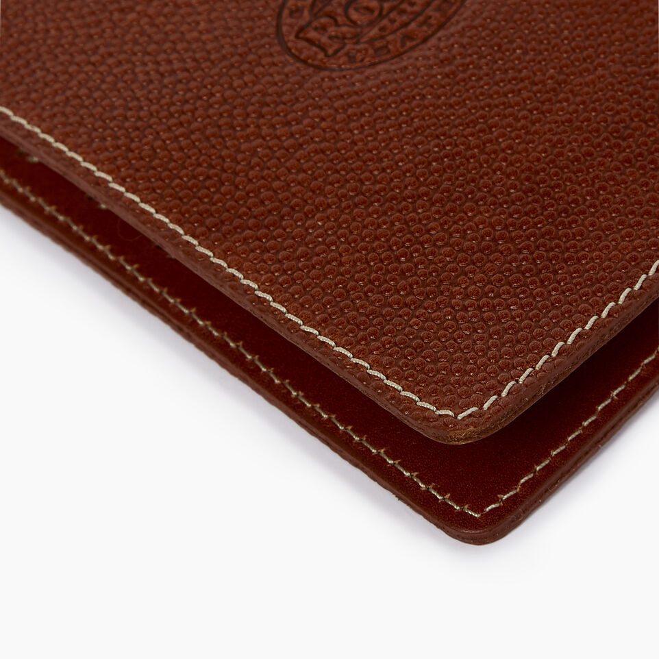 Roots-Leather  Handcrafted By Us Our Favourite New Arrivals-Horween Passport Wallet-Cognac-D