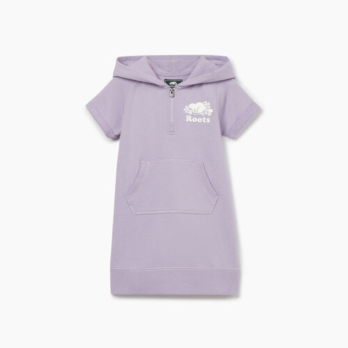 Roots-Kids New Arrivals-Toddler Dockside Hooded Dress-Wisteria-A