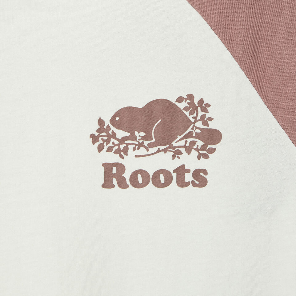 Roots-Women Our Favourite New Arrivals-Womens Cooper Baseball Top-Vintage White-D