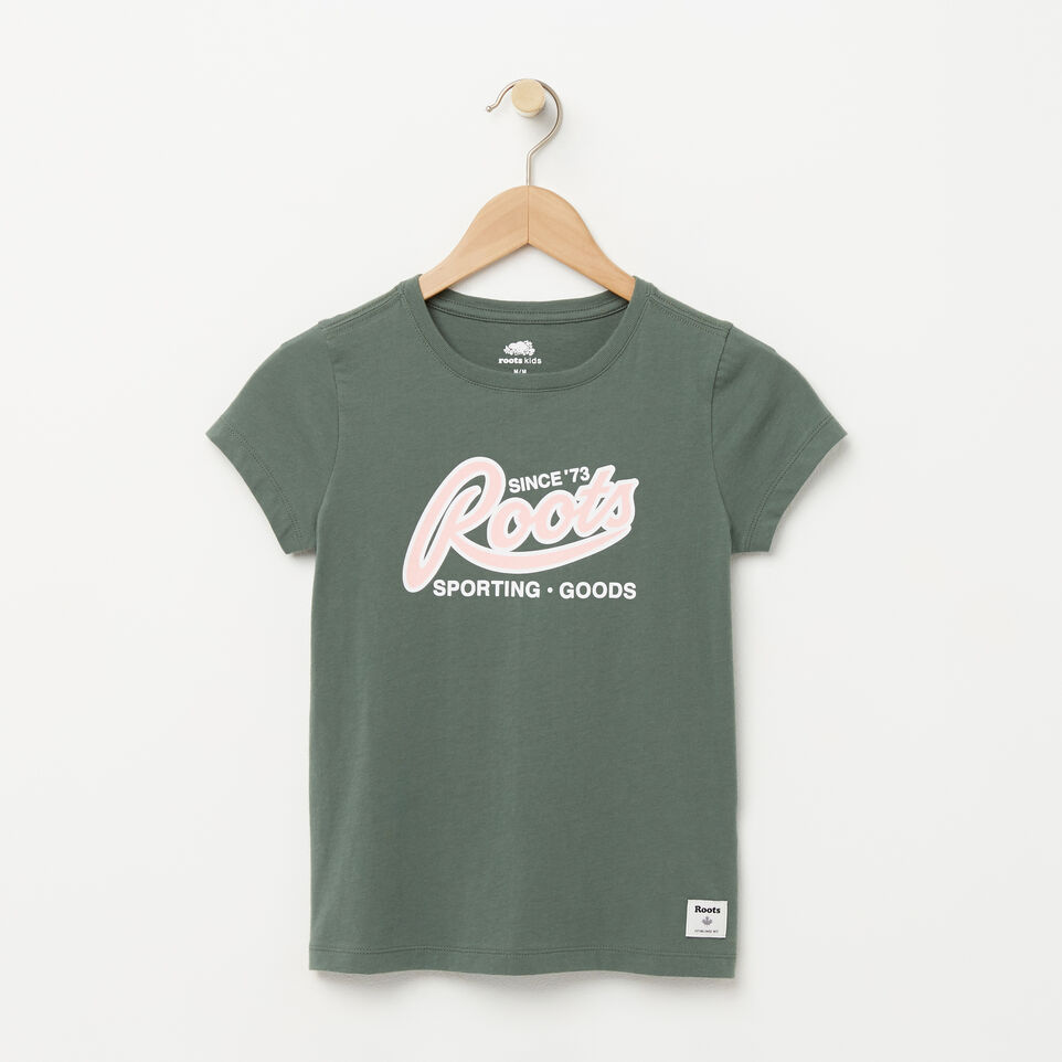 Roots-undefined-T-shirt Sport Roots pour filles-undefined-A