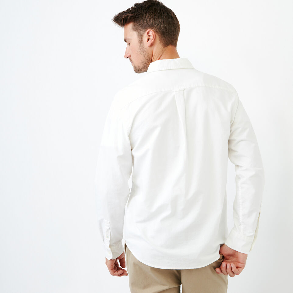 Roots-Men Our Favourite New Arrivals-Napanee Oxford Shirt-Ivory-D