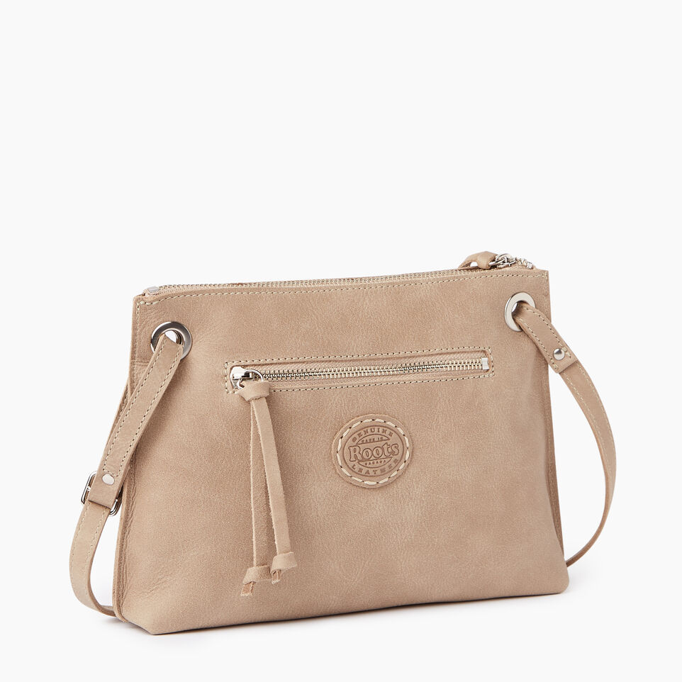 Roots-Leather  Handcrafted By Us Our Favourite New Arrivals-Edie Bag-Sand-C