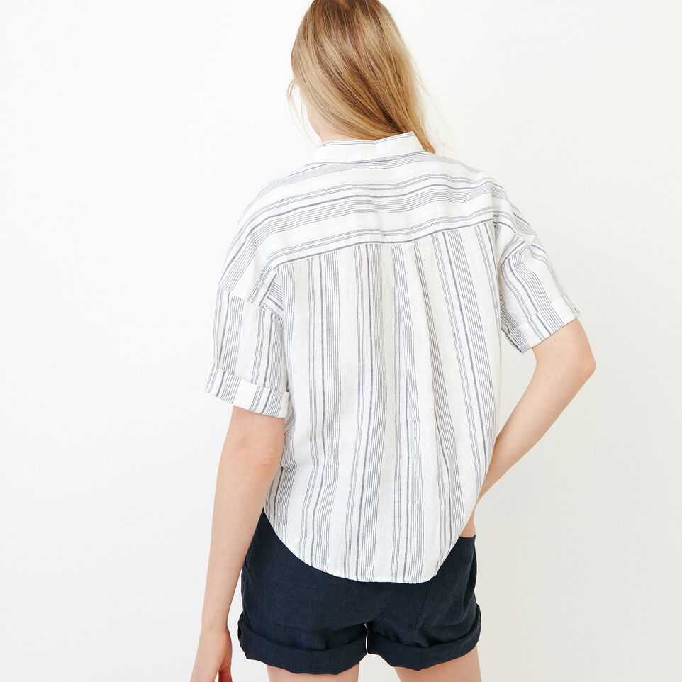 Roots-Women Our Favourite New Arrivals-Wainwright Shirt-Eclipse-D