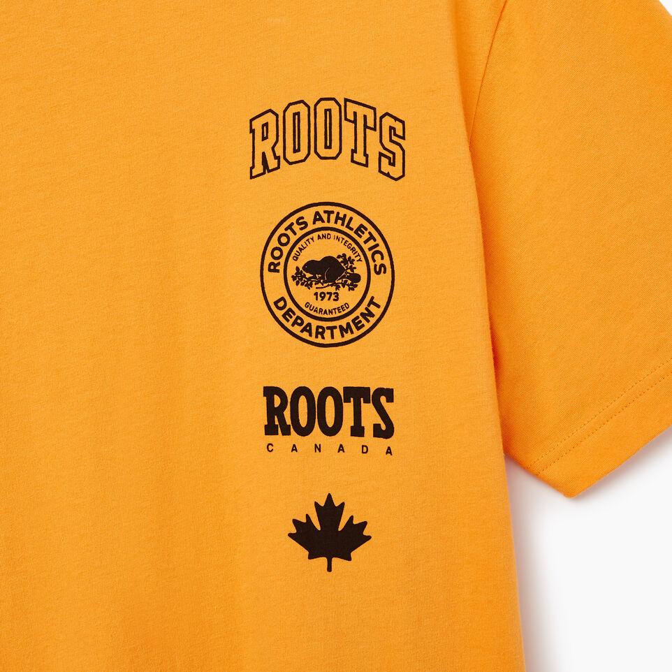 Roots-undefined-Mens Stamps T-shirt-undefined-C