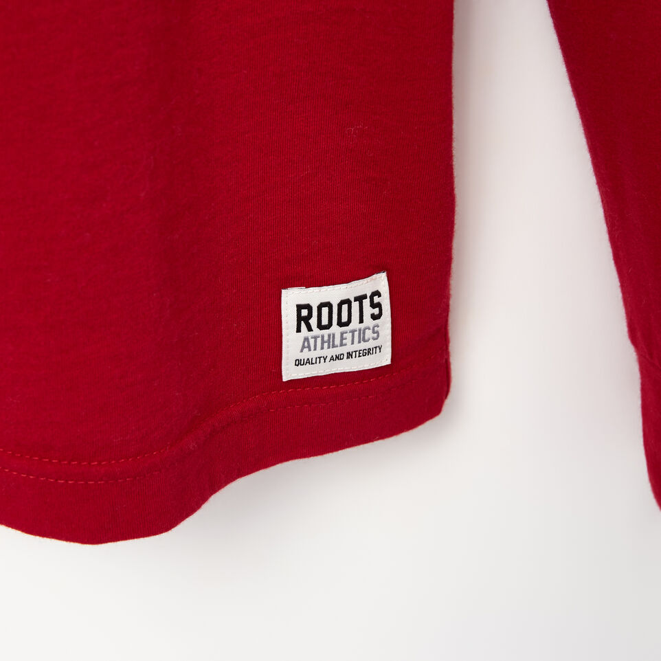 Roots-undefined-Mens Canada Script T-shirt-undefined-C