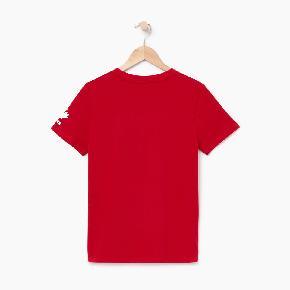 Roots-Gift Guide Canada Collection By Roots™-Womens Roots Canada T-shirt-Sage Red-B