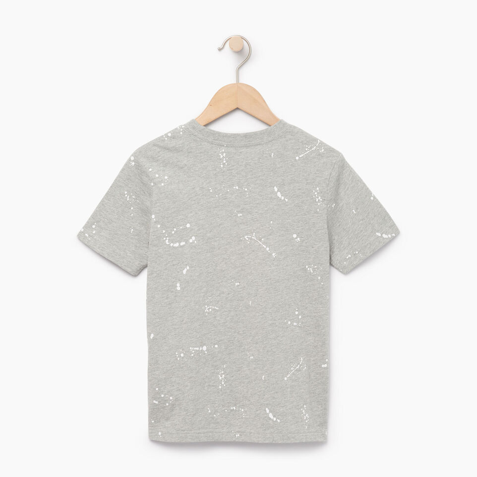 Roots-undefined-Boys Splatter Aop T-shirt-undefined-B