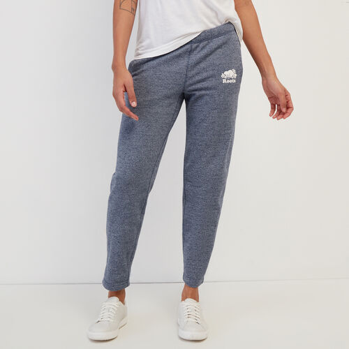 Roots-Women Clothing-Easy Ankle Sweatpant-Navy Blazer Pepper-A