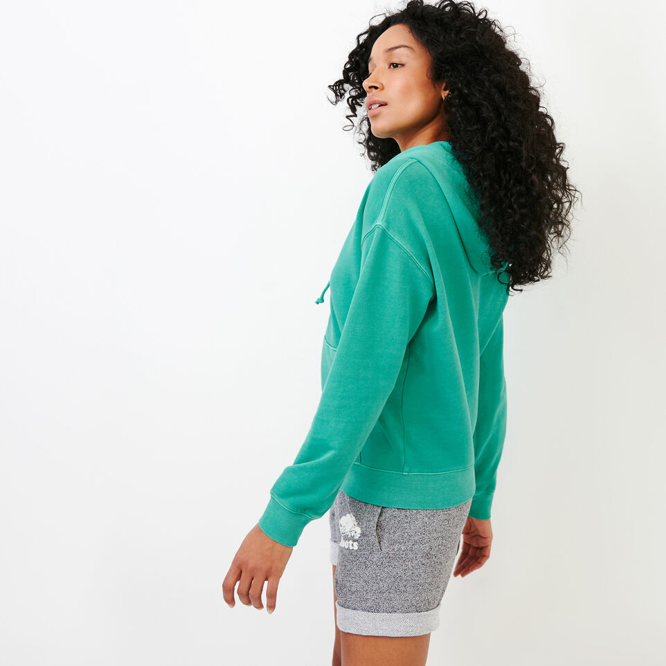 Roots-Women Our Favourite New Arrivals-Kelowna Full Zip Hoody-Sea Green-C