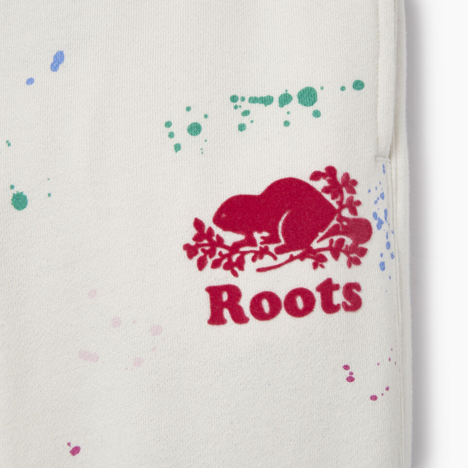 Roots-undefined-Girls Splatter Sweatpant-undefined-D