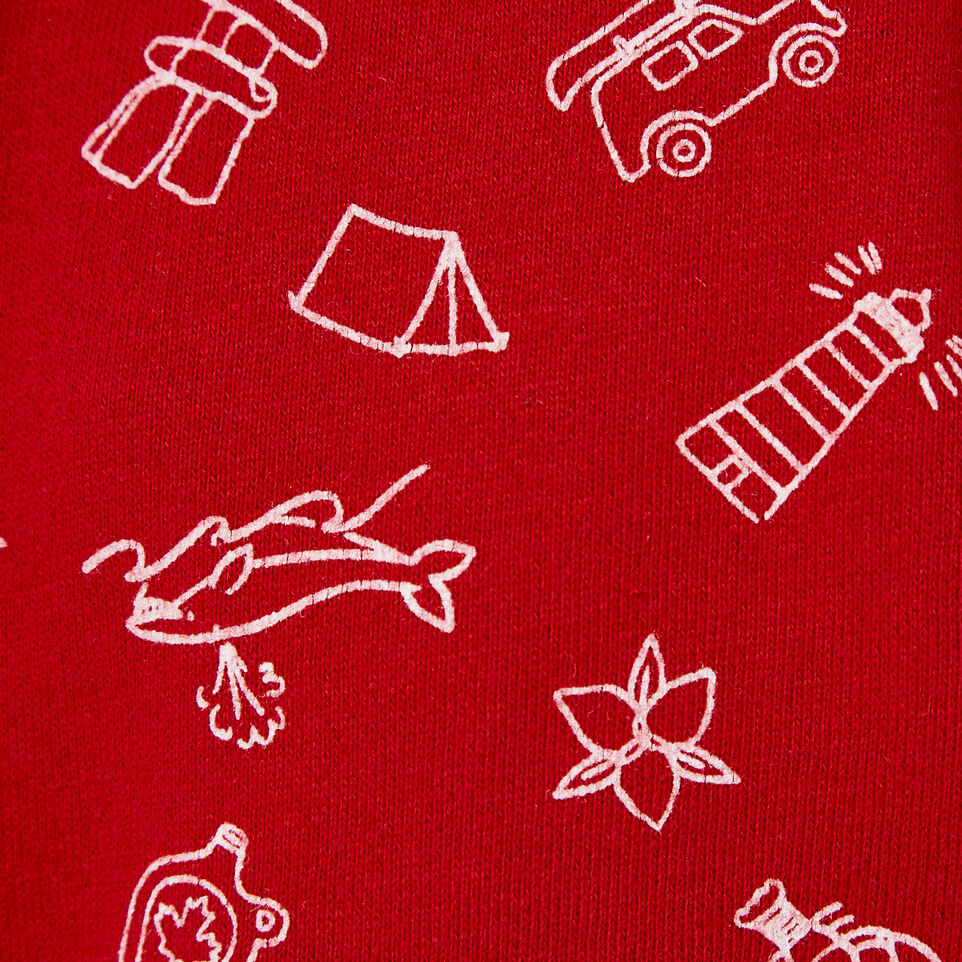 Roots-Kids Our Favourite New Arrivals-Toddler Canada Roots Aop Short-Sage Red-C
