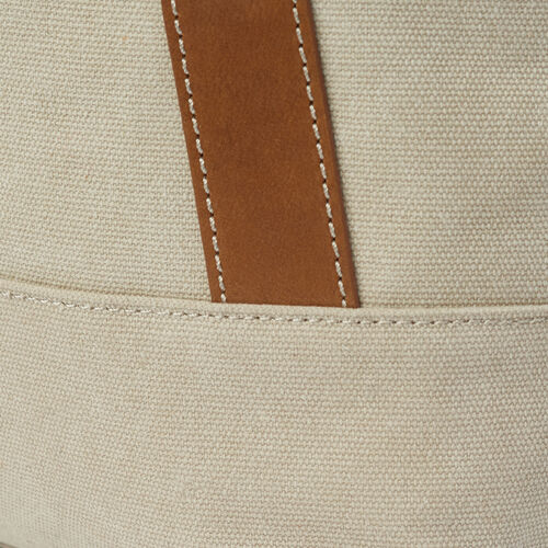 Roots-Women Our Favourite New Arrivals-Muskoka Tote Canvas-Natural-E