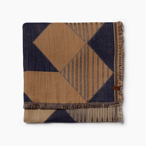 Roots-Women Categories-Rideau Scarf-Navy-A