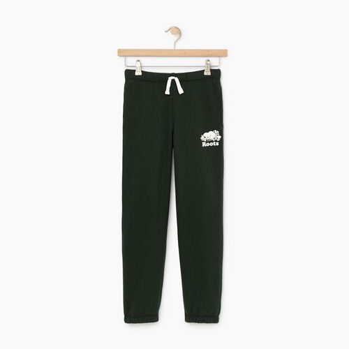 Roots-Clearance Kids-Boys Original Sweatpant-Park Green-A