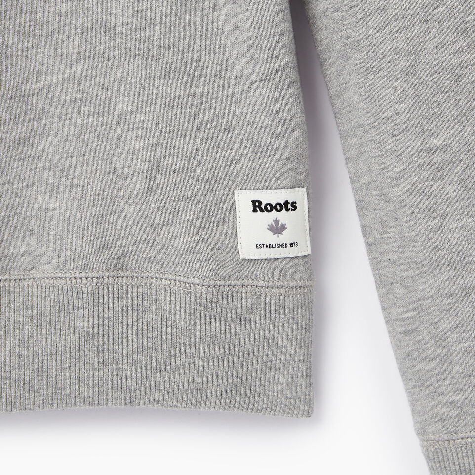 Roots-Kids Our Favourite New Arrivals-Girls Heart Patch Sweatshirt-Grey Mix-C