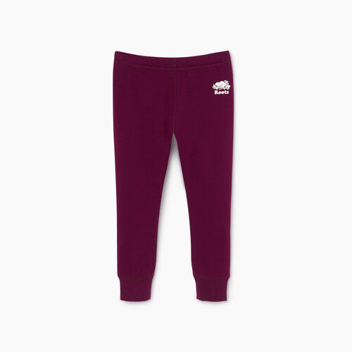 Roots-Kids Bestsellers-Toddler Cozy Fleece Legging-Pickled Beet-A