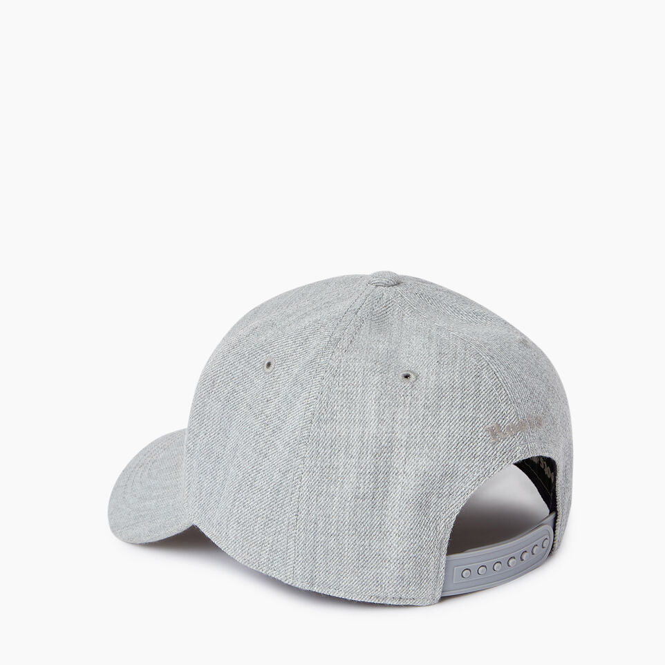 Roots-Men Our Favourite New Arrivals-Modern Leaf Baseball Cap-Grey Mix-C