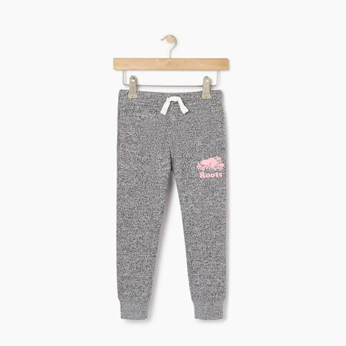 Roots-Kids Bottoms-Toddler Slim Cuff Sweatpant-Mauve Orchid-A