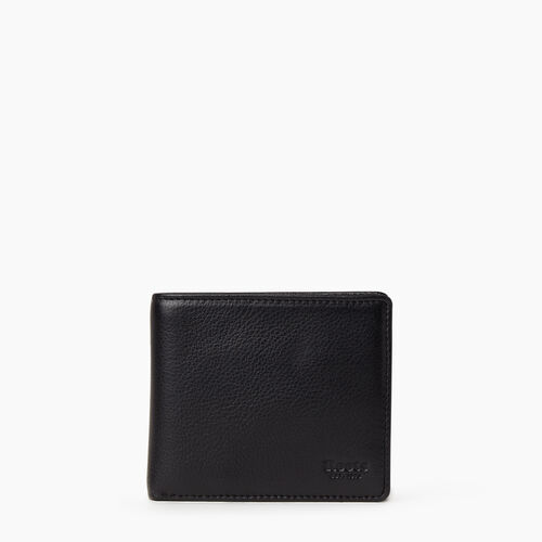 Roots-Leather  Handcrafted By Us Categories-Mens Slimfold With Coin-Black-A