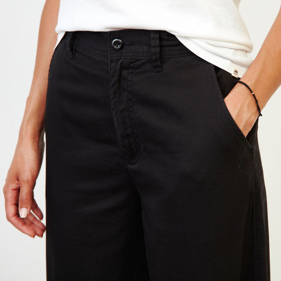 Roots-Women Categories-Widewater Pant-Black-E