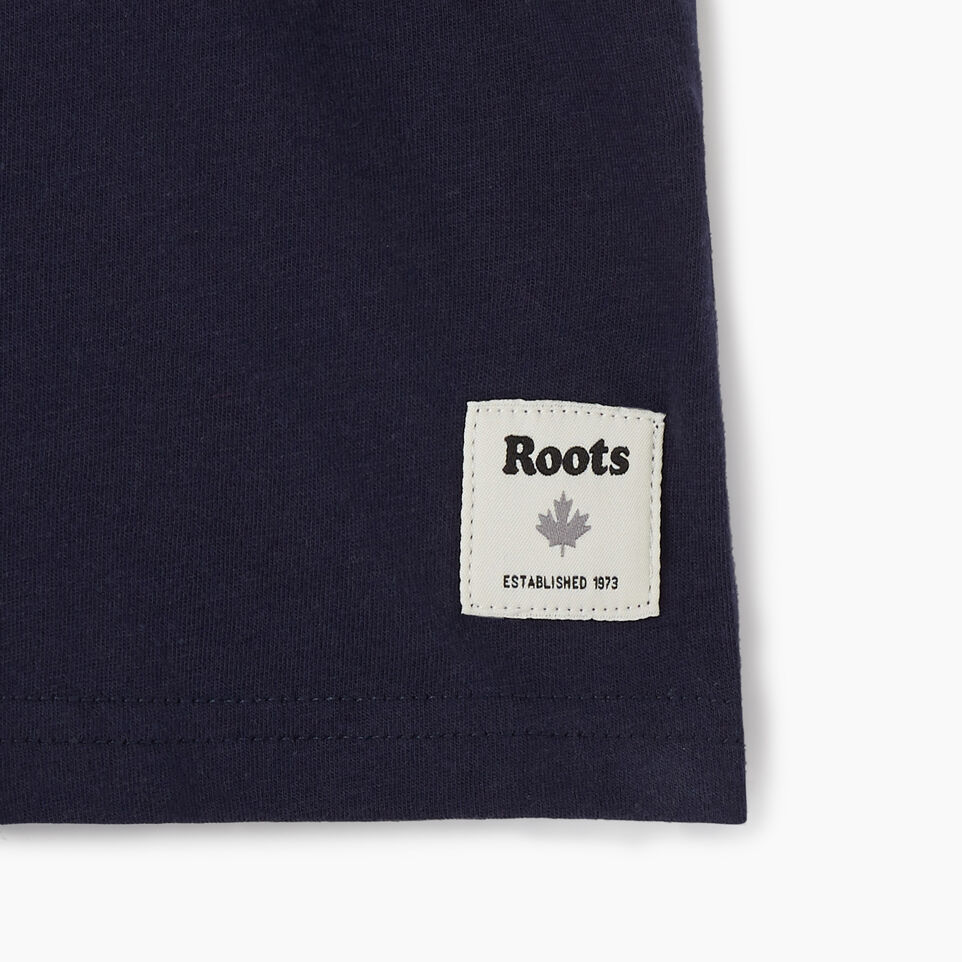 Roots-undefined-Boys Colourblock T-Shirt-undefined-D