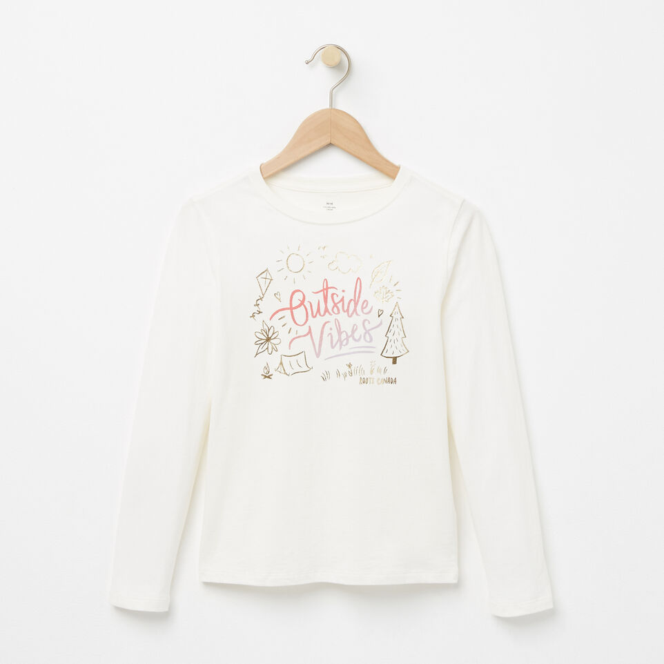 Roots-undefined-Girls Outside T-shirt-undefined-A