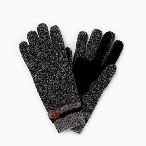 Roots-Gifts Accessory Sets-Womens Roots Cabin Glove-Black Mix-A