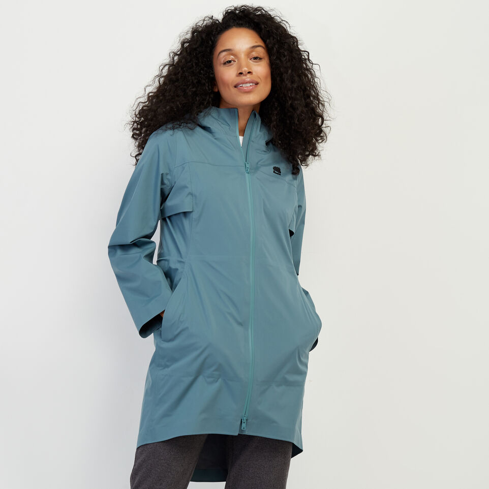 Roots-New For February Journey Collection-Journey Rain Jacket-North Atlantic-A
