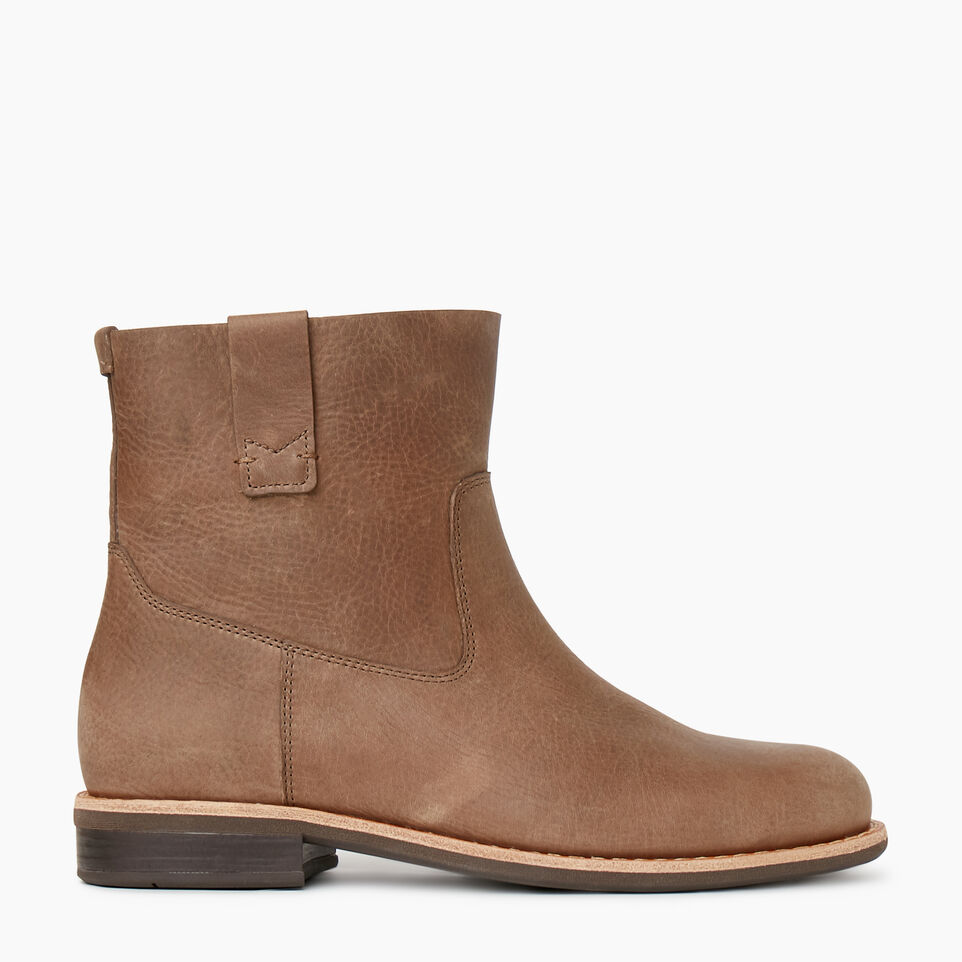 Roots-Women Categories-Womens Riverdale Shorty Boot-Fawn-A