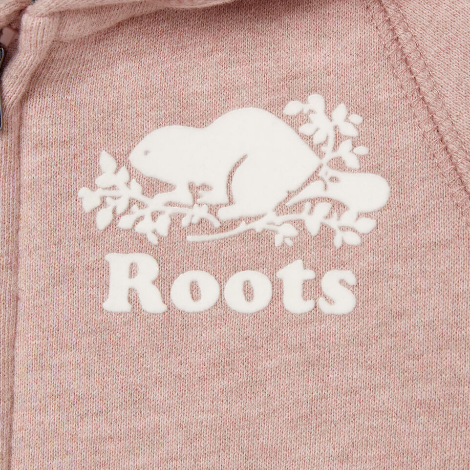 Roots-Kids Our Favourite New Arrivals-Baby Original Full Zip Hoody-Deauville Mauve Mix-C