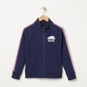 Roots-Kids Girls-Girls Cooper Track Jacket-Cascade Blue-A